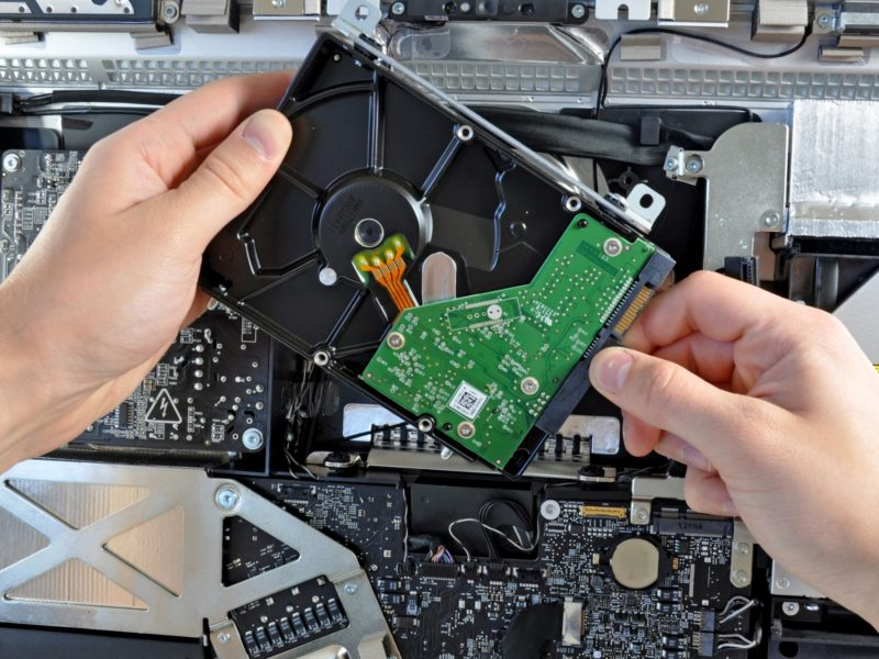 Замена-ремонт HDD на компьютере